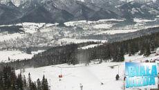 Tylko miejscami dobre warunki narciarskie