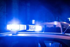 Pijany uderzył w znak i zasnął. Obudził go policjant. To dopiero początek historii