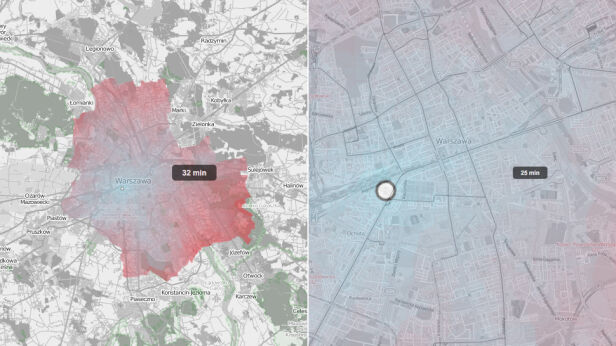 Mapa atrakcyjności Warszawy Sławomir Dadas (GNU GP Licesne)