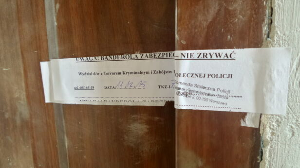 W piątek na miejscu zbrodni była policja  Artur Węgrzynowicz / tvnwarszawa.pl