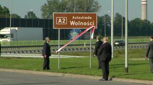"""A2 """"Autostradą Wolności"""". Nadali symboliczną nazwę"""