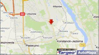 Zderzenie dwóch samochodów i autobusu miejskiego w Powsinie
