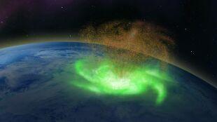 Pierwszy raz w historii udokumentowano kosmiczny huragan