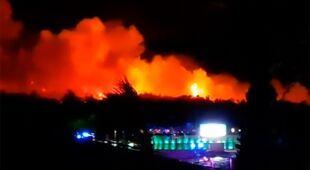 Pożary na Chorwacji