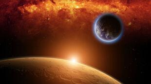 Szef NASA: człowiek na Marsie priorytetem USA