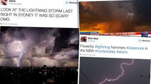 Niezwykła burza w Australii. Zobacz naturalne sztuczne ognie