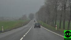 Wietrznie i deszczowo. Ciężki poniedziałek dla kierowców