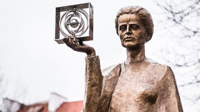 Pomnik Marii Skłodowskeij-Curie