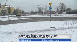 Zima aura w Toruniu
